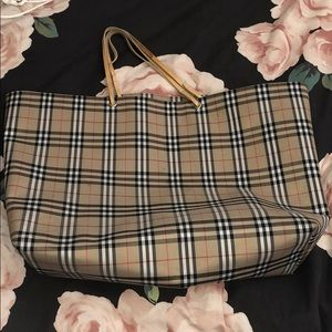 Large Burberry Tote